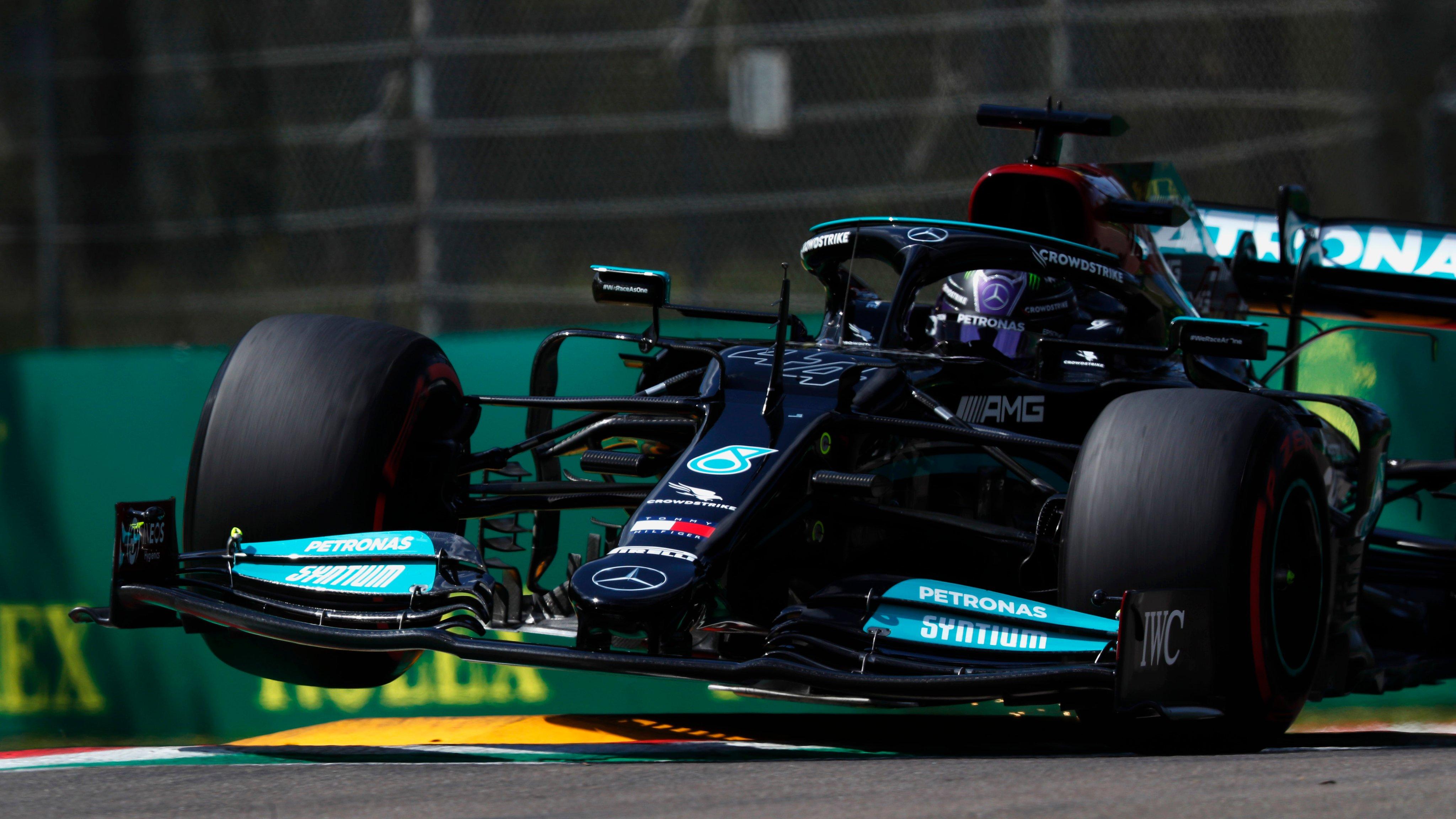 Lewis Hamilton - Emilia Romagna GP - Mrecedes F1 - Formula One