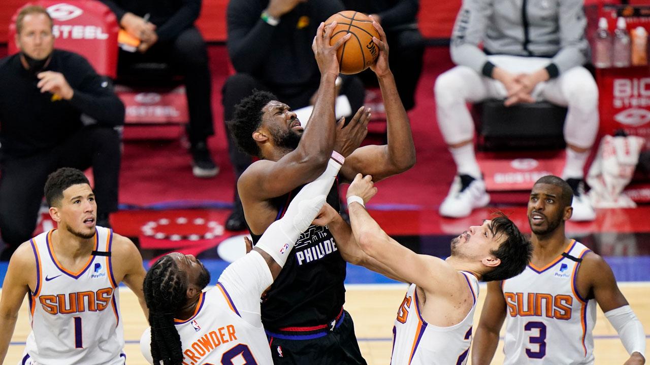 Jeol Embiid - Philadelphia 76ers - NBA Games