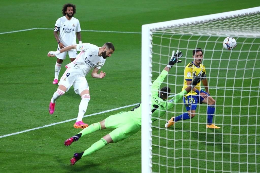 رئال مادرید / لالیگا / کادیز / اسپانیا / Real Madrid / Laliga / Cadiz / Spain